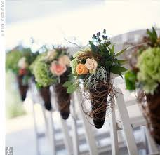 Fall Wedding Aisle Decorations - creative ceremony ideas an affair to remember