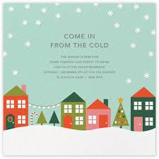 christmas invitations online at paperless post