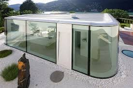 30 ideas to use glass in modern house exterior and interior design