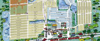 Myrtle Beach Map Maps Ocean Lakes Family Campground