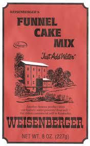 weisenberger funnel cake mix