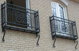 wrought iron and cast aluminum street lamps statuary fountains