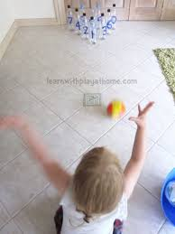 learn with play at home plastic bottle number bowling