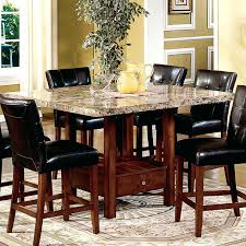Tall Dining Room Sets Innovative Espresso Counter High Dining Table Height Dining Room