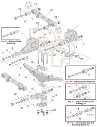 volvo truck parts diagram spring u0026 suspension schemes standard spring
