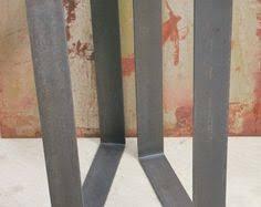 Flat Bar Table Legs Metal Table Legs Flat Bar Dormentes Mesa De Jantar E Ferro