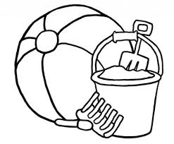 free coloring pages beach download coloring pages beach ball coloring page beach ball