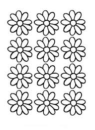 daisy flower daisy flower outline coloring page stencils