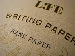 brown writing paper life writing bank paper 8 3 x 5 8 inches life writing bank paper