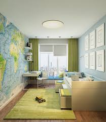 kids room kids room wall decor features stylish map wallpaper and