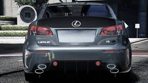 lexus isf modifications 2009 lexus is f with wald bodykit replace gta5 mods com