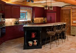 red cabinets in kitchen color my kitchen lovemybrlc
