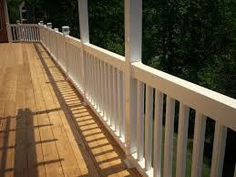 7 deck rail ideas for your cedar st louis decks screened with
