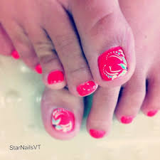 nail design ideas for toes