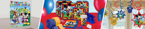 mickey mouse party supplies u0026 decorations shindigz