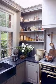open shelf corner kitchen cabinet corner open shelving kitchen home design