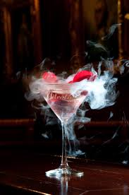 martini champagne rose nitrotini