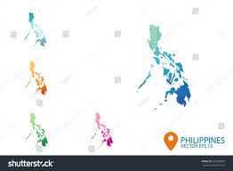 philippines map vector online wireframe software