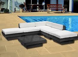 divano giardino divano salotto rattan luxus arredo giardino esterno piscina