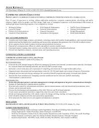 Communications Resume Sample by 28 Communication Resume Samples Sample Communications Manager