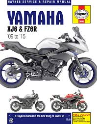 yamaha xj6 u0026 fz6r 09 15 haynes repair manual haynes publishing