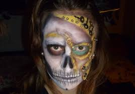 steampunk halloween halloween makeup steampunk skull m u0027art hd youtube