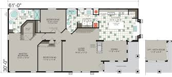Floor Plans For Trailer Homes Manufactured Homes Floor Plans Silvercrest Homes