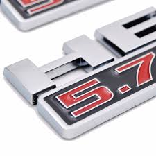 dodge jeep silver 5 7 liter hemi logo emblem nameplate badge decal for dodge ram
