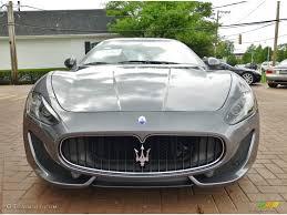 Grigio Alfieri Grey 2013 Maserati Granturismo Sport Coupe