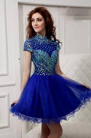 short royal blue prom dress naf dresses