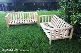 Plans For Building Garden Furniture by Diy Outdoor Couch Myoutdoorplans Free Woodworking Plans And