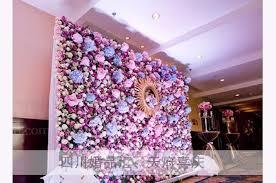 wedding decoration home 25cm artificial silk pink fuchsia peony flower wall wedding