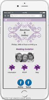 wedding invitations app diy wedding invites with mobile app qr code free cut files