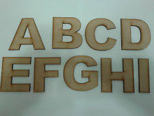 letters mdf engraved decorative plaques u0026 signs ebay