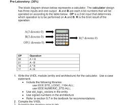 input output tables calculator solved pre laboratory 30 the block diagram shown belo