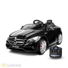 mercedes s63 amg black ride on car mercedes s63 amg black littleking com au