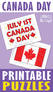 canada day printable puzzles for kids itsy bitsy fun