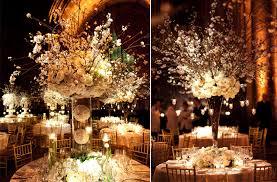 Topiaries Wedding - wedding toppieries white wedding reception centerpieces dramatic