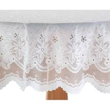 lace vinyl table covers elegant floral vinyl lace table cover 70 round walmart com