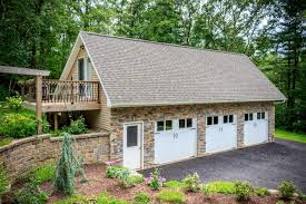 saltbox style home custom garages ct ma ri attached detached multi car 1 2