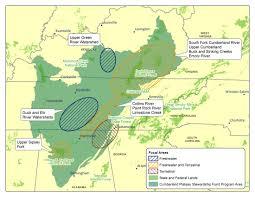 Elk Population Map Cumberland Plateau Stewardship Fund 2018 Request For Proposals