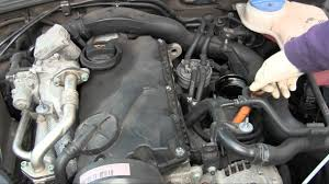 how to diy oil change on vw passat tdi somewhat similar on