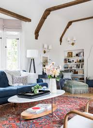 our modern english tudor living room emily henderson emily henderson modern english cottage tudor living room reveal8