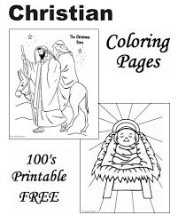 christian coloring pages christmas story