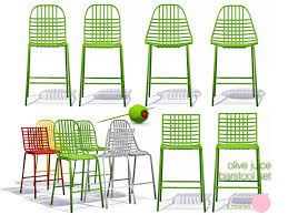 Bar Stool Sets Of 3 Dot S Olive Juice Bar Stool Set