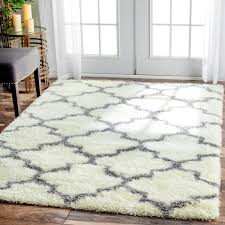 8 By 10 Area Rugs Cheap Nuloom Moroccan Trellis Shag Rug 8 X 10 Overstock