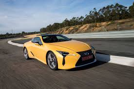 lexus lfa las vegas first drive 2018 lexus lc 500 and 500h automobile magazine
