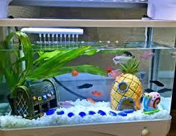 sale mini resin pineapple house landscaping fish tank
