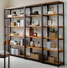 étagère en fer forgé pour cuisine meubles rétro clins de bois en fer forgé racks avions finition