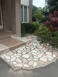 Cement Mix For Pointing Patio by Repairing Loosen Patio Flagstones Polymeric Sand Vs Envirobond